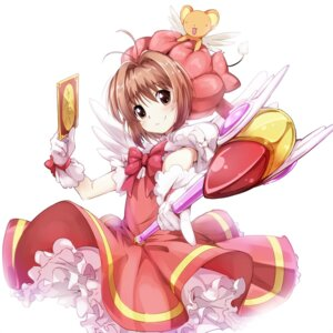 Rating: Safe Score: 22 Tags: bun150 card_captor_sakura kerberos kinomoto_sakura User: 椎名深夏