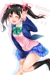Rating: Safe Score: 25 Tags: love_live! seifuku sweater yazawa_nico yumari_nakura User: Mr_GT