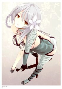 Rating: Questionable Score: 153 Tags: ass cleavage kaine_(nier) mikoto_akemi nier thighhighs yellow_avantgard User: Share