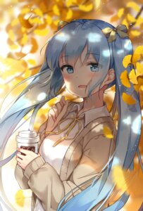 Rating: Safe Score: 74 Tags: douyacai hatsune_miku sweater vocaloid User: RyuZU