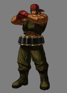 Rating: Safe Score: 3 Tags: eisuke_ogura king_of_fighters king_of_fighters_xiii male ralf_jones snk transparent_png User: Yokaiou