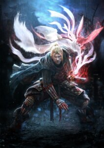 Rating: Safe Score: 21 Tags: armor blood cg koei_tecmo monster_girl nioh sword william_(nioh) wings User: Radioactive