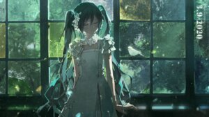Rating: Safe Score: 43 Tags: dress hatsune_miku mikazukicea summer_dress vocaloid wallpaper User: Arsy