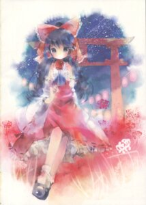 Rating: Safe Score: 7 Tags: hakurei_reimu niji_no_saki shimeko touhou User: Radioactive