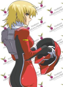 Rating: Safe Score: 13 Tags: bodysuit cagalli_yula_athha gundam gundam_seed vector_trace User: boon