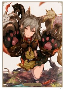 Rating: Safe Score: 16 Tags: animal_ears granblue_fantasy neko sen_(granblue_fantasy) weapon yatsuka_(846) User: Twinsenzw