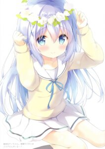 Rating: Safe Score: 22 Tags: amedama_con gochuumon_wa_usagi_desu_ka? kafuu_chino seifuku sweater User: kiyoe