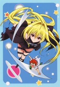 Rating: Safe Score: 30 Tags: garter golden_darkness to_love_ru to_love_ru_darkness yuuki_rito User: fireattack