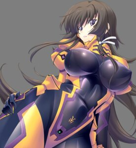 Rating: Questionable Score: 50 Tags: bodysuit erect_nipples miyata_ao muvluv muvluv_alternative takamura_yui total_eclipse transparent_png User: demonbane1349