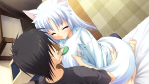 Rating: Safe Score: 33 Tags: animal_ears game_cg muririn nekomimi rindou_ruri tenshinranman User: charunetra