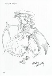 Rating: Safe Score: 1 Tags: monochrome remilia_scarlet touhou tsukuri_monoji User: noirblack