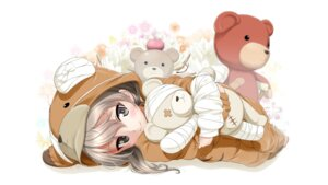 Rating: Safe Score: 58 Tags: bandages excel_(shena) girls_und_panzer pajama shimada_arisu wallpaper User: Mr_GT