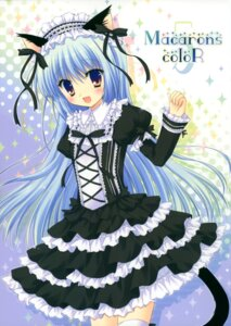 Rating: Safe Score: 52 Tags: animal_ears cascade dress hasekura_chiaki lolita_fashion nekomimi tail thighhighs User: midzki