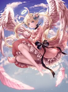 Rating: Safe Score: 29 Tags: angel dress tagme wings User: lounger