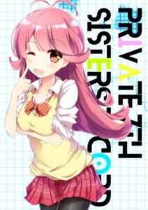 Rating: Safe Score: 22 Tags: breast_hold fuuna pantyhose sakaiya_yumeno seifuku tokyo_7th_sisters User: KazukiNanako