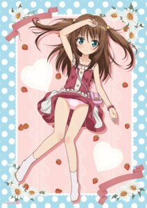 Rating: Questionable Score: 40 Tags: dress hokoro loli nukui_kurumi pantsu skirt_lift tenshi_no_three_piece! User: monketh