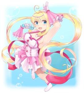 Rating: Safe Score: 8 Tags: cleavage dress mermaid_melody_pichi_pichi_pitch nanami_luchia shouju_ling User: animeprincess