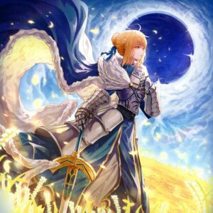 Rating: Safe Score: 34 Tags: armor bu_(user_auya5258) dress fate/grand_order fate/stay_night saber sword User: Nepcoheart
