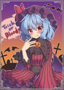Rating: Safe Score: 12 Tags: beni_kurage dress halloween remilia_scarlet touhou wings User: Mr_GT