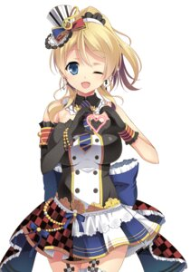 Rating: Safe Score: 45 Tags: ayase_eli dress ishigami_kazui love_live! stockings thighhighs User: fairyren