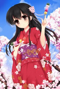 Rating: Safe Score: 24 Tags: kantai_collection kimono ushio_(kancolle) vivian_(lancerhd) User: charunetra