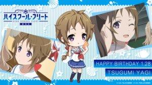 Rating: Safe Score: 9 Tags: chibi high_school_fleet seifuku tagme wallpaper yagi_tsugumi User: saemonnokami