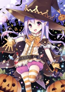 Rating: Safe Score: 59 Tags: bloomers halloween mauve pointy_ears thighhighs witch User: Mr_GT