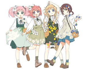 Rating: Safe Score: 18 Tags: akaza_akari dress funami_yui namori overalls sketch toshinou_kyouko yoshikawa_chinatsu yuru_yuri User: saemonnokami