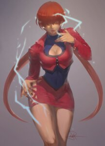Rating: Safe Score: 21 Tags: cleavage king_of_fighters shermie snk spade-m User: Mr_GT