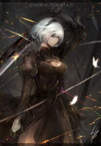 Rating: Safe Score: 37 Tags: cleavage dress marumoru nier_automata sword yorha_no.2_type_b User: charunetra