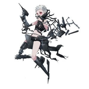 Rating: Safe Score: 18 Tags: arimusume battleship_girl gun mecha_musume User: Radioactive