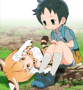 Rating: Safe Score: 9 Tags: animal_ears kaban_(kemono_friends) kemono_friends sat-c serval tail User: NotRadioactiveHonest