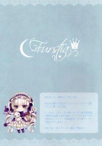 Rating: Safe Score: 8 Tags: chibi dress gothic_lolita heterochromia lolita_fashion tsukikage_nemu User: kiyoe