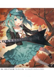 Rating: Questionable Score: 15 Tags: guitar kawashiro_nitori rie seifuku sweater touhou User: Radioactive