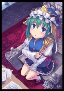 Rating: Questionable Score: 13 Tags: oto_taku shikieiki_yamaxanadu touhou User: sxxiaoou