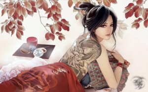 Rating: Safe Score: 26 Tags: fixme jpeg_artifacts tattoo wallpaper zhang_xiaobai User: charunetra
