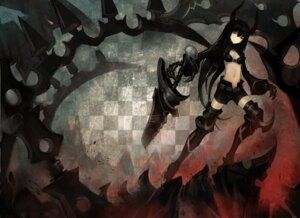 Rating: Safe Score: 25 Tags: black_gold_saw black_rock_shooter horns kiwamu vocaloid User: Radioactive