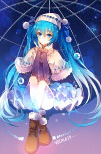 Rating: Safe Score: 35 Tags: baocaizi hatsune_miku pantyhose vocaloid User: charunetra