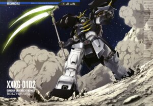 Rating: Safe Score: 10 Tags: gundam gundam_wing mecha ueda_youichi User: Radioactive