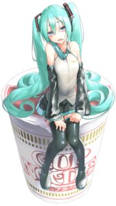 Rating: Safe Score: 25 Tags: hatsune_miku headphones rsk tagme thighhighs vocaloid User: Dreista