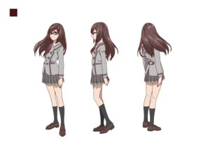 Rating: Safe Score: 8 Tags: akanesasu_shoujo character_design heels megane seifuku tounaka_yuu User: saemonnokami