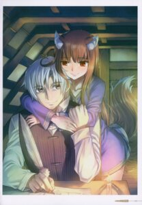 Rating: Safe Score: 10 Tags: animal_ears craft_lawrence holo koume_keito spice_and_wolf tail User: kiyoe