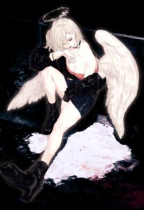 Rating: Safe Score: 4 Tags: cleavage heels ozyako0 wings User: Mr_GT