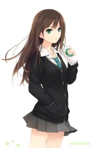 Rating: Safe Score: 86 Tags: coffee-kizoku seifuku shibuya_rin the_idolm@ster the_idolm@ster_cinderella_girls User: 椎名深夏