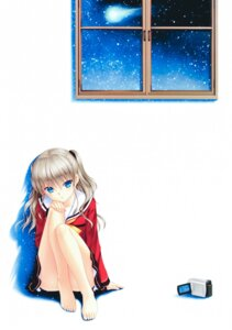 Rating: Safe Score: 18 Tags: charlotte feet key na-ga seifuku skirt_lift tomori_nao User: marechal