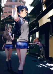 Rating: Safe Score: 58 Tags: keepout kousaka_honoka love_live! minami_kotori screening seifuku sonoda_umi User: kiyoe