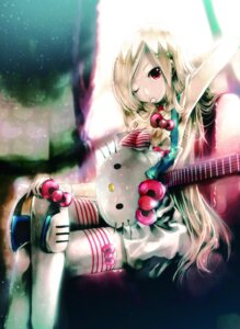 Rating: Safe Score: 39 Tags: guitar hello_kitty kei thighhighs User: blooregardo