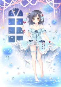 Rating: Questionable Score: 26 Tags: cameltoe dress garter korie_riko pantsu skirt_lift tagme wet User: edogawaconan