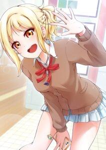 Rating: Safe Score: 14 Tags: love_live!_nijigasaki_high_school_idol_club love_live!_school_idol_festival_all_stars miyashita_ai seifuku sweater tagme User: saemonnokami