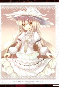 Rating: Safe Score: 25 Tags: akeboshi_kagayo dress kirisame_marisa takemikazuki touhou User: Radioactive